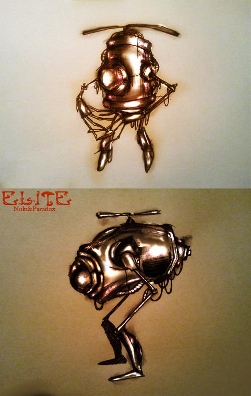 Divers de Nuki ElitRobods